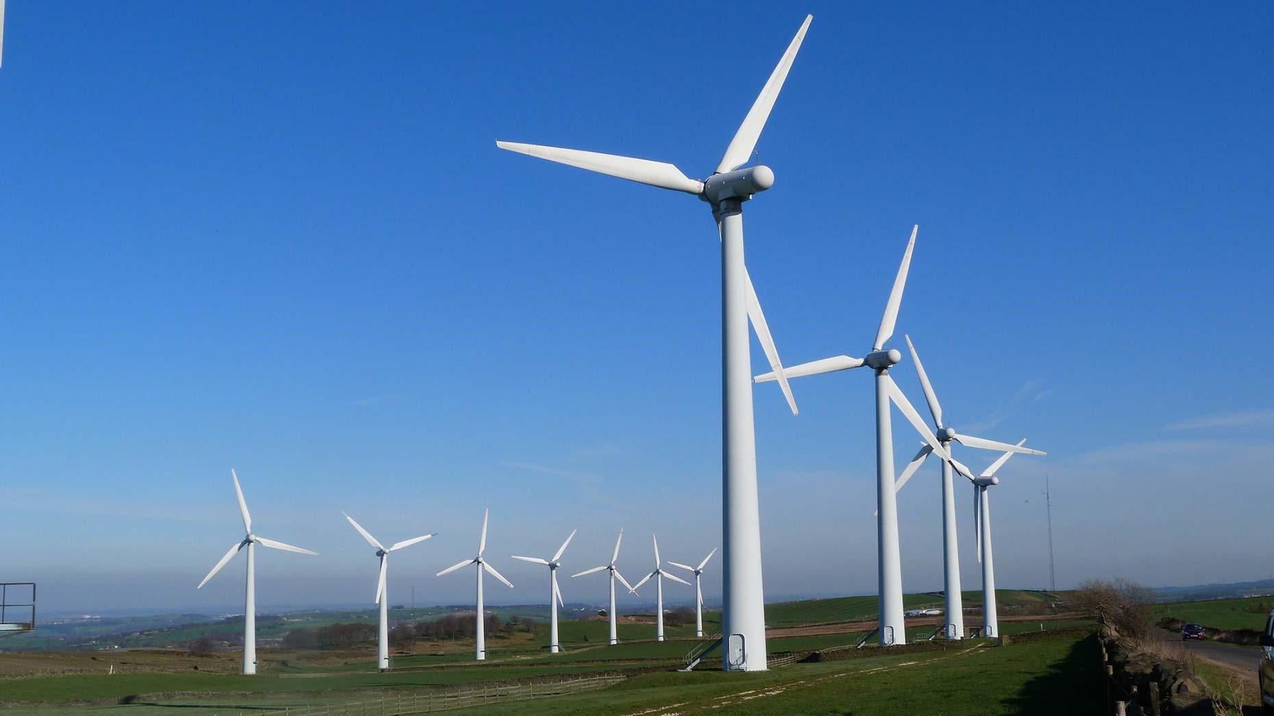 Figure 1 Ngong Hills Wind Farm, courtesy of KenGen